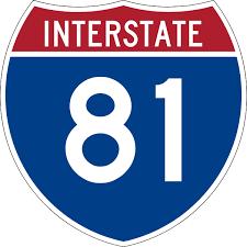 Interstate 81 in Virginia