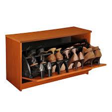 Shoe Storage Furniture by Baxton Studio Simms Modern Shoe Cabinet Hayneedle