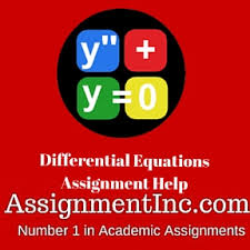 Differential Equations Assignment Help and Homework Help Differential Equations Assignment Help