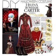 Red Queen Halloween Costume Dyi Halloween Costume Helena Bonham Carter Red Queen