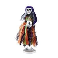 department 56 peanuts halloween department 56 4052634 fortune teller skeleton