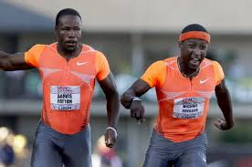 Michael Rodgers, Carmelita Jeter win 100 meters | OregonLive. - large_Michael-Rodgers-Darvis-Patton