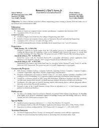 Sample Cv Science Graduate Student The Basics Of Science Cvs A Sample Research Cv Rufoot Resumes  Esay  and Templates