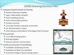 Somd brewing business plan v