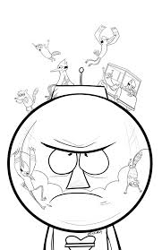 regular show coloring pages coloring home