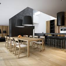 Loft Designs by Modern Minimalist Black And White Lofts