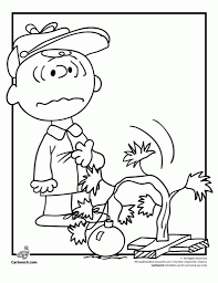 charlie brown christmas coloring pages coloringsuite com