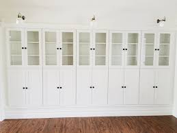 White Bookcase With Drawers by Furniture Home White Bookcase With Glass Doors On Brown Wodden