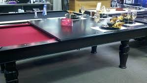 Pool Table In Dining Room by Pool Table With Dining Conversion Top U2013 Thelt Co
