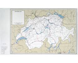 Map Of France And Switzerland by Maps Of Switzerland Detailed Map Of Switzerland In English