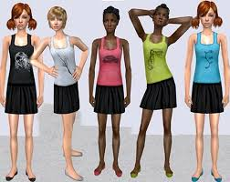 Sims Clothing