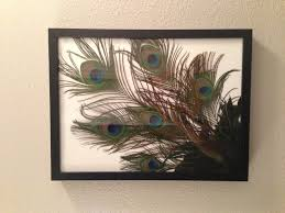 Silk Peacock Home Decor by I Just Made This For My Bathroom Easy To Do A Bunch Of Peacock