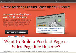 Best Thesis Skins for Better Landing Page Conversion WPcells