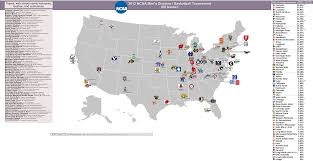 Colorado State University Map by Ncaa Men U0027s Basketball Billsportsmaps Com