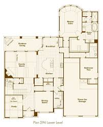 new home plan 294 in prosper tx 75078 floorplans highland homes