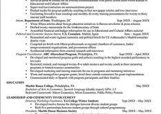 Sample Federal Government Resume by Download Cover Letter With Resume Haadyaooverbayresort Com