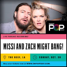 Anna Faris Entertainment Weekly EW Might Bang Missi Pyle podcast popfest Sim Sarna Zach Selwyn Zach Selwyn