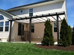 Outdoor Patio With Roof by Custom Patio Covers Awnings Bright Covers