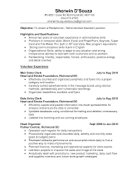 free sample resumes for administrative assistants simple resume format free download in ms word resume format ms general office clerk sample resume resume sample general office clerk resume general accounting clerk sample resume