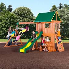 Cedar Playsets Swing Sets Playsets Kmart