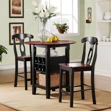 Chairs For Kitchen Table by Beautiful Round High Top Table Sets With Storage And Chairs Jpg
