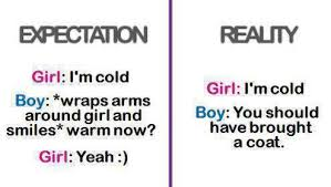 QuotesGram random  dating  expectation versus reality  reality  funny  LOL  cold
