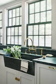 rafe churchill soapstone sink waterworks unlacquered brass