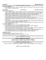Objectives For Resumes Examples by Event Planner Resume Example