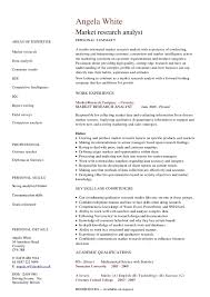 Research Analyst Sample Resume by Market Research Analyst Cv Hashdoc