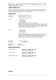 Sample Objectives In Resume For It by Resume Objective Examples How To Write A Resume Objective