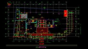 floor plan template autocad youtube