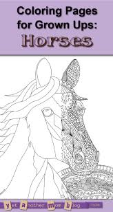 454 best coloring pages horses unicorns and zebras images on