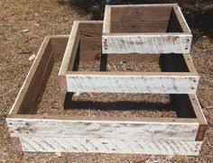 Shabby Chic Planters by Garden Planters Vintage Raised Beds Shabby Chic Also To Trade
