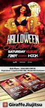 halloween costume party flyer template by giraffejiujitsu