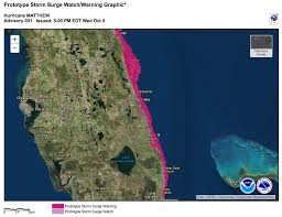 Map Of Clearwater Florida Hurricane Matthew Poses Extreme Threat To Florida U2014 Imageo