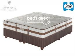 sealy posturepedic crown jewel tranquil medium king size bed