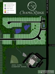 interactive plat map section 2 chapel ridge