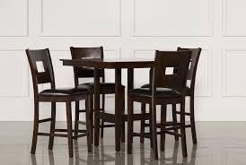 Five Piece Dining Room Sets Nicholas 5 Piece Counter Set Living Spaces