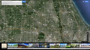 Google Maps Illinois by Arlington Heights Illinois Map