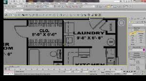 3ds max house modeling tutorial interior building model design
