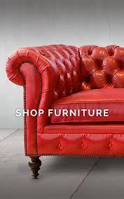 Carolina Leather Sofa by Of Iron U0026 Oak American Made Custom Furniture