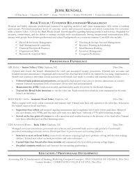 Resume Job Duties Examples In Store Banker Resume Resume Cv Cover Letter