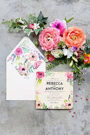 Invitation Card Designer Best 25 Floral Invitation Ideas On Pinterest Floral Wedding