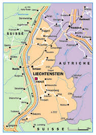 Political Map Europe by Small Political Map Of Liechtenstein Liechtenstein Europe