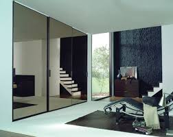 Wardrobes With Sliding Doors Contemporary Wardrobe Wooden With Sliding Door Mirrored