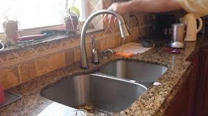 kitchen delta faucets leaking delta kitchen faucet repair fix