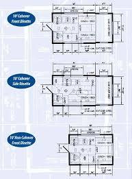 Caravan Floor Plan Layouts 134 Best Floor Plans For Campers Trailers Tiny House