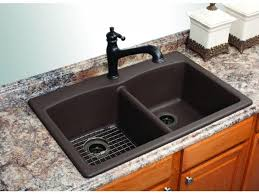 kitchen sink wonderful mounted sink in long counter and white
