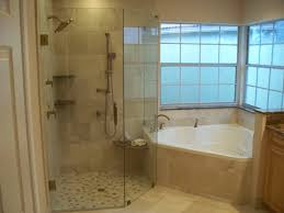 corner tub w larger walk in shower do not like the wall next to corner tub w larger walk in shower do not like the wall next to