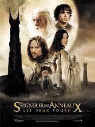 Le seigneur des anneaux : les deux tours 2002 poster